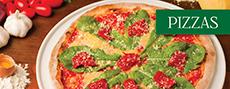 Cardapio de pizzas
